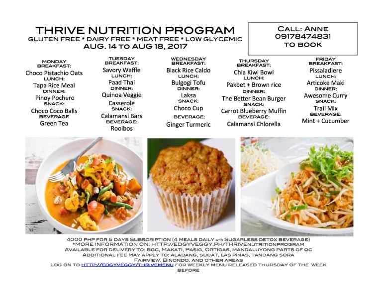 Aug 14 Reg Thrive