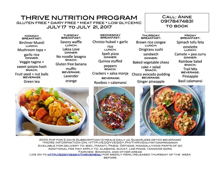 July 17 Regular Thrive