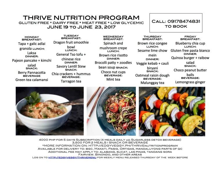 June 19 Regular Thrive